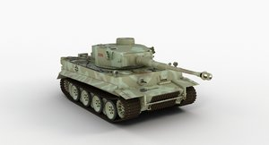 3d panzerkampfwagen vi tiger german tank