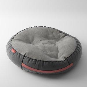 pet bed 3d max