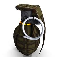 3d mk2 grenade model