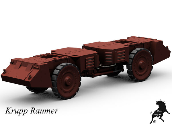3d model of raumer krupp