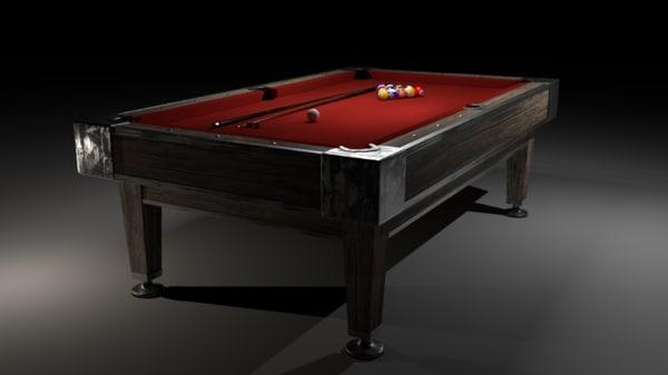 billiard table 3ds