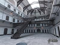 3d prison model