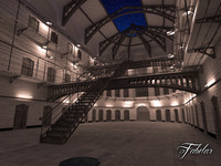 prison night 3d max