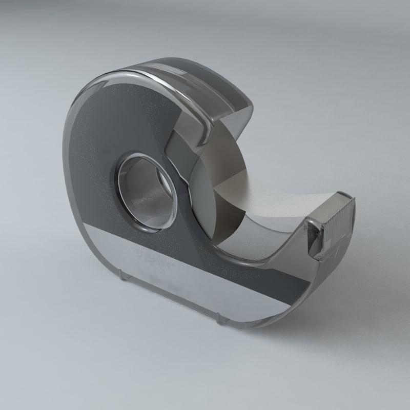 tape dispenser c4d