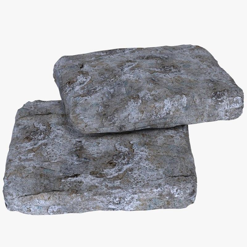 flat stones max