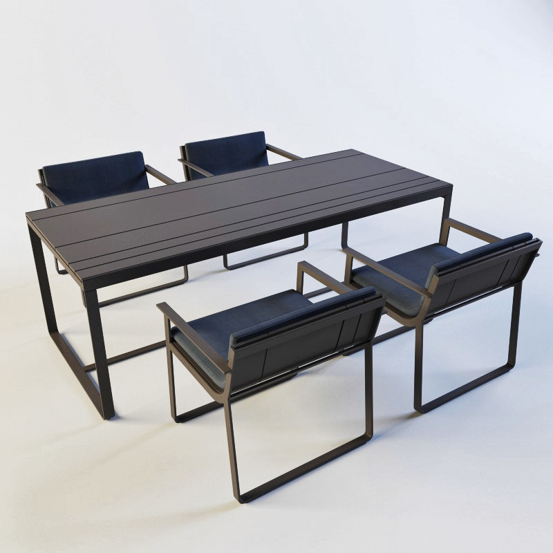 max banco flat outdoor table
