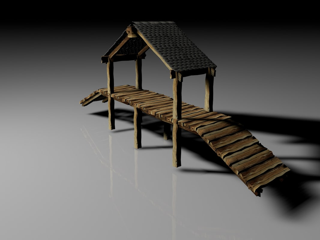 estructura structure 3d model