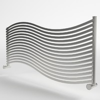 3d towel radiator 3