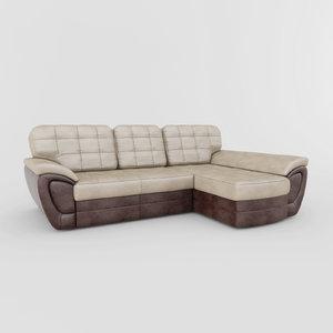 3d model sofa duglas