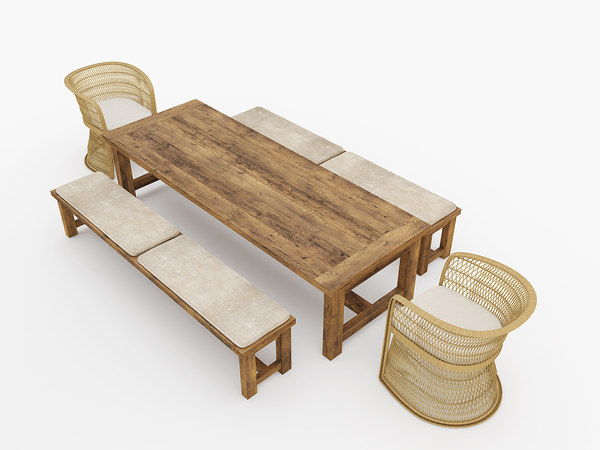 max outdoor dining table set