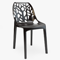 tree plastic chair 3d max