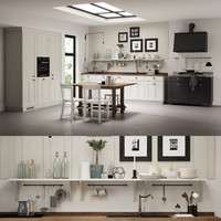 3d kitchen scavolini