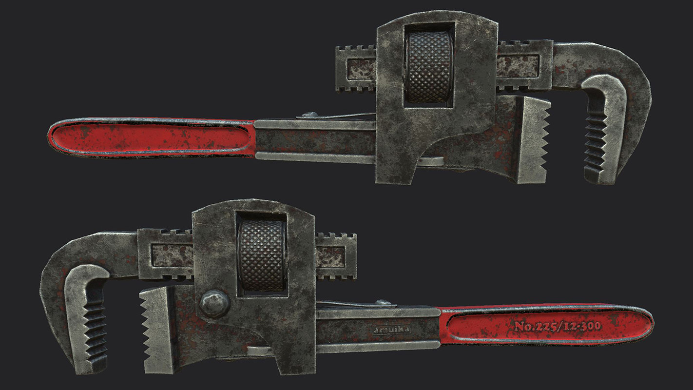 free max model pipe wrench