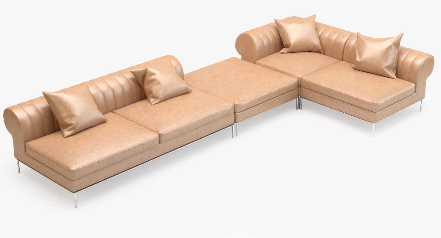 busnelli deja vu sofa 3d model