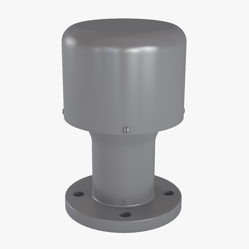 breathing valve 3 3d max