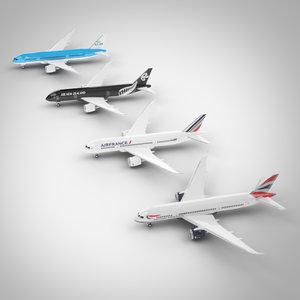 airplanes set max
