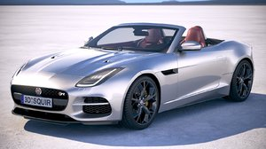 3d max f-type convertible 2018