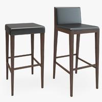 Wooden Bar Chair Stool