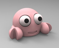tooned little crab 3d 3ds