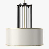 3d model fasten chandelier light