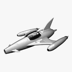 3d jet aircraft model