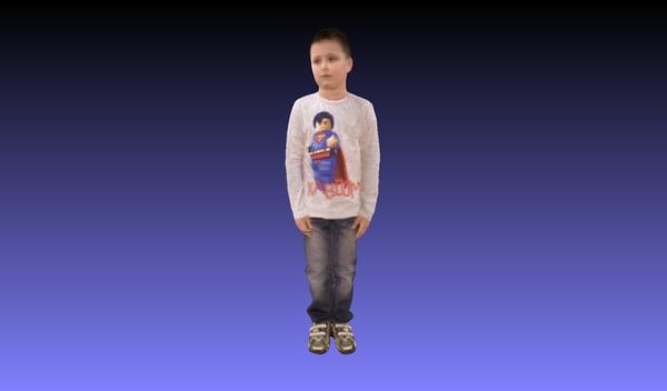 3d boy model