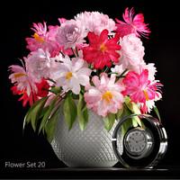 Flower set 20