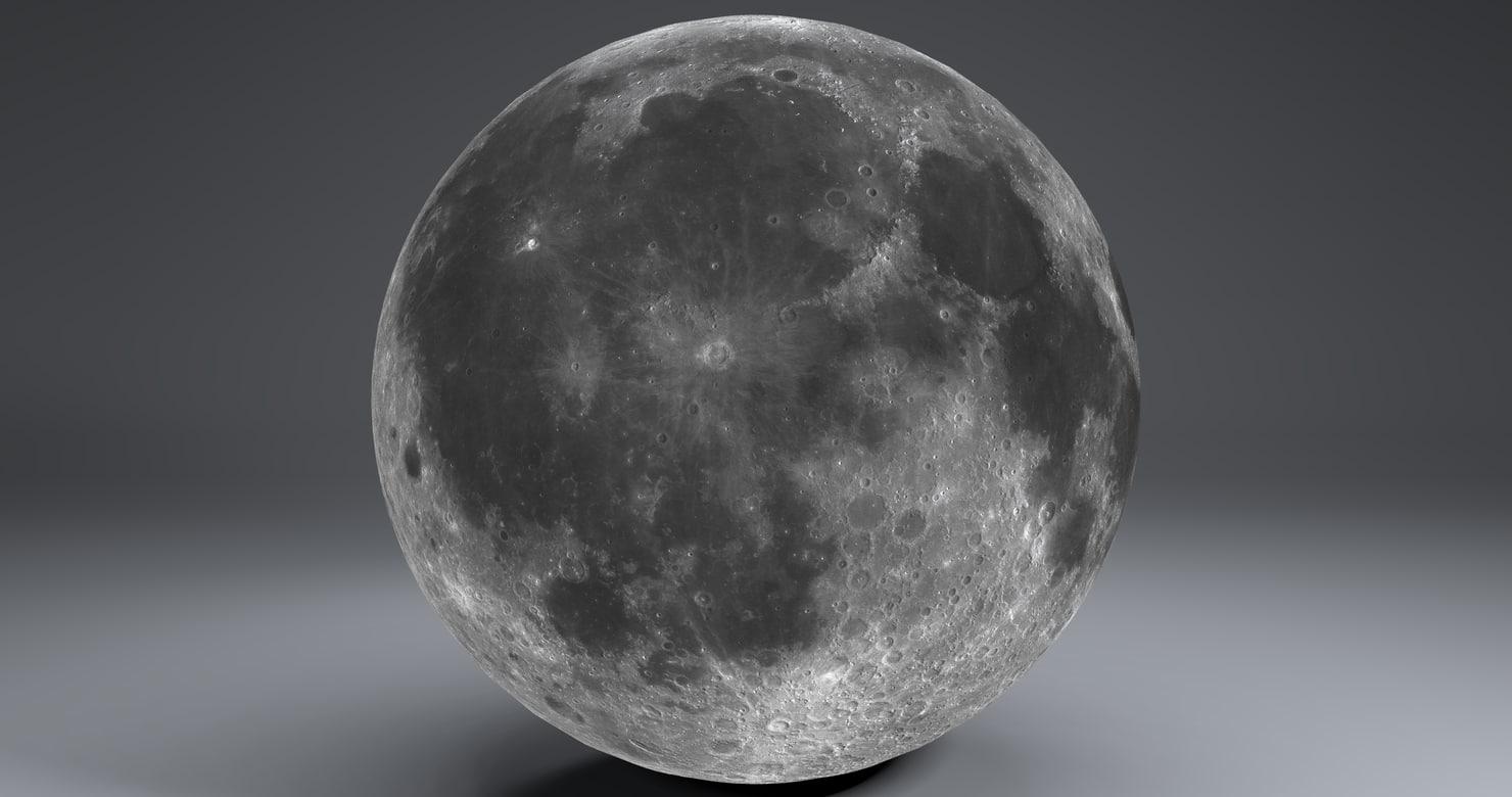 3ds moon globe 23k