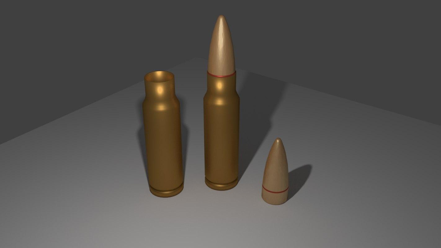 bullet parts casing 3ds