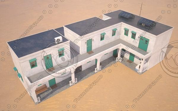 3d model motel