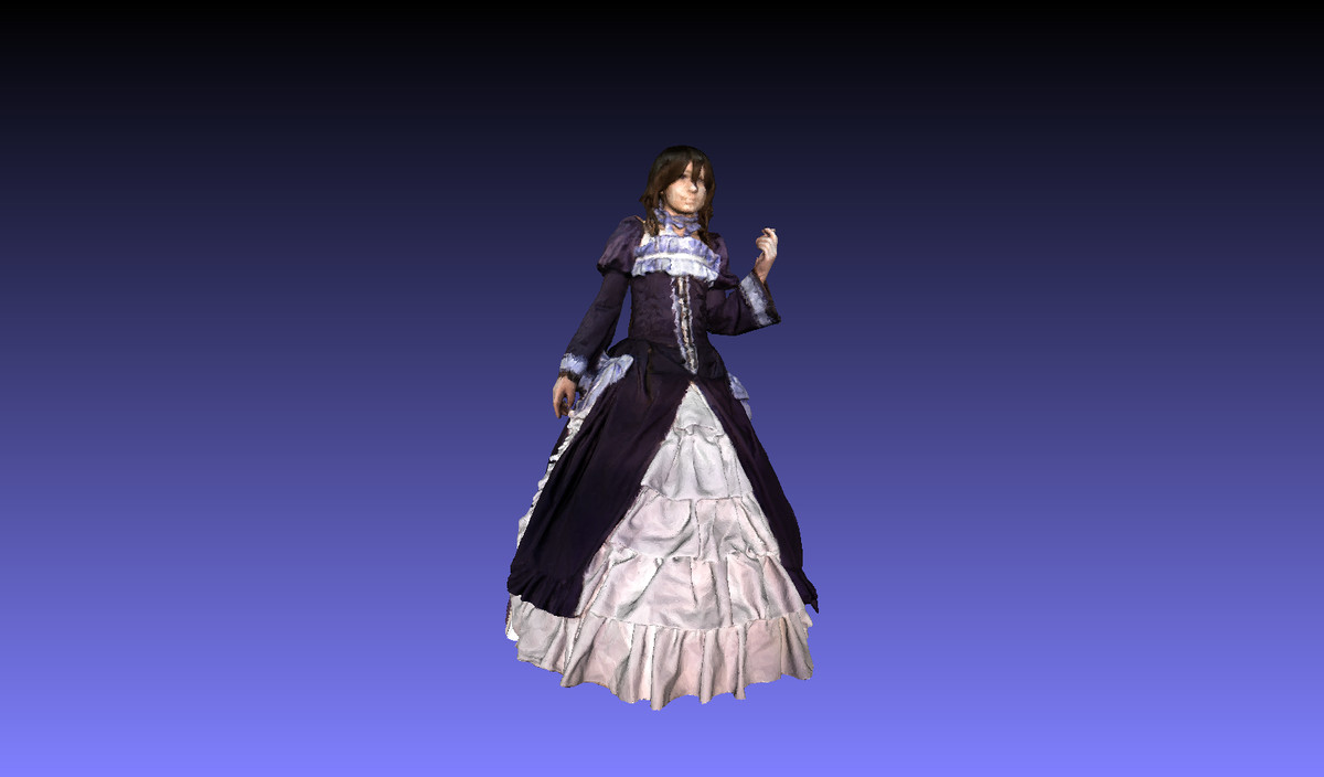 3d model of woman princess