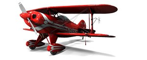 pitts special s-1 sport 3d obj