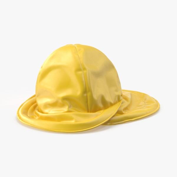 rain-hat-flat 3d max