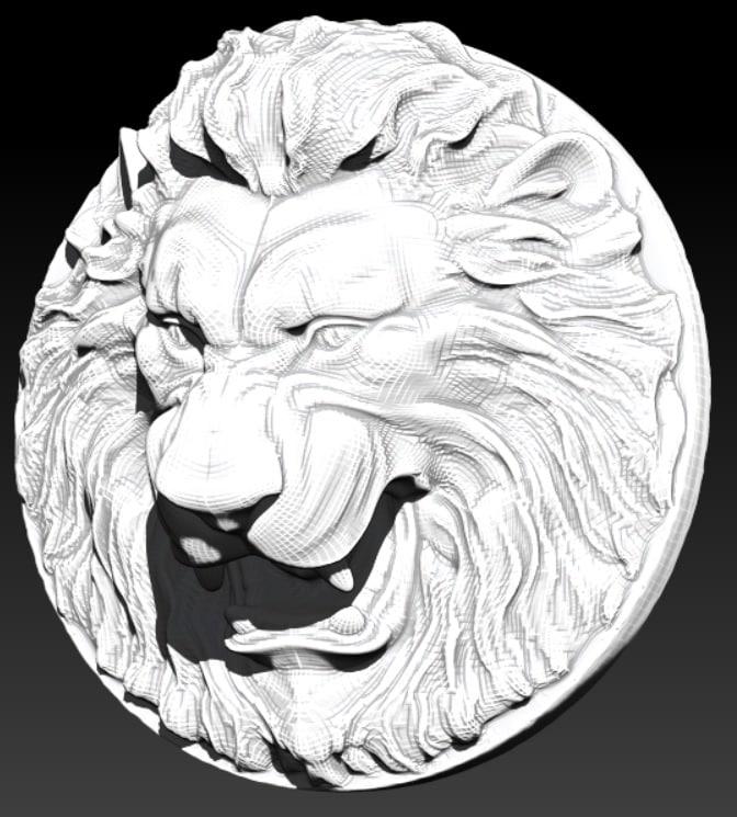 lion obj