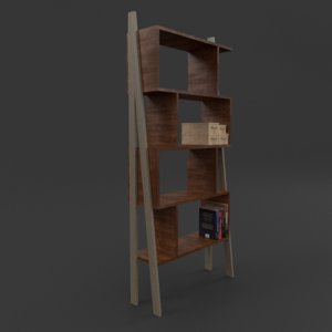 book case 3ds