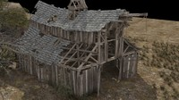 3d model mexico wilderness debris formwork