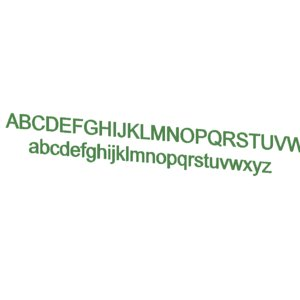 arial font 3ds