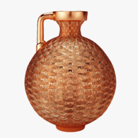 copper jug interior 3d 3ds