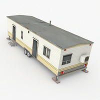3d model trailer house games