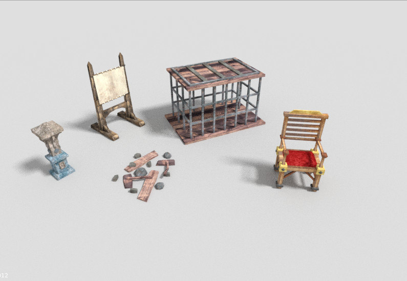 obj pack 5 dungeon props