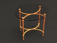 hooker table 3d model