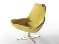 metropolitan me100 armchair 3d model