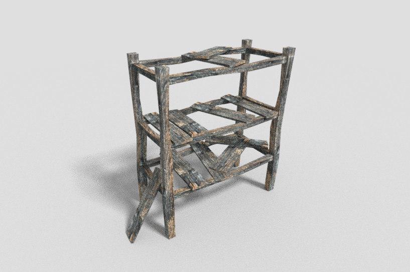 dungeon shelf 3d 3ds