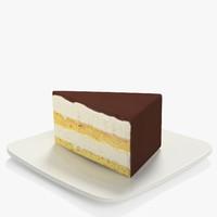 3d model cake souffle s