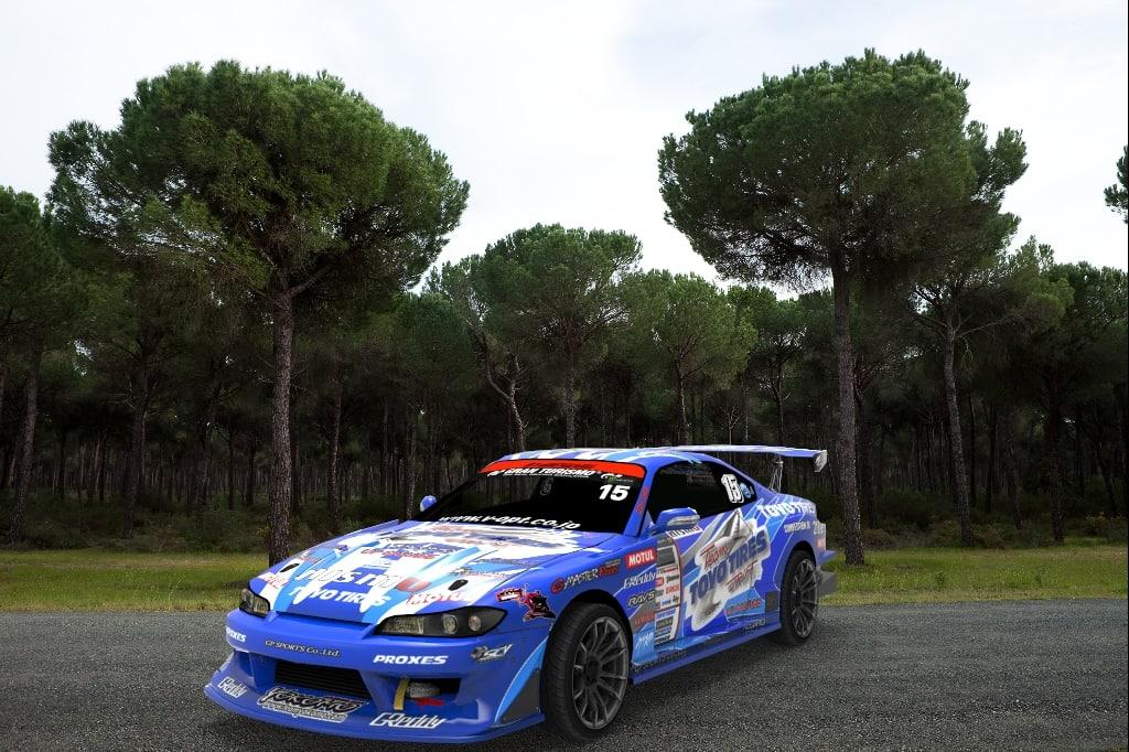 racing car d1 3d model