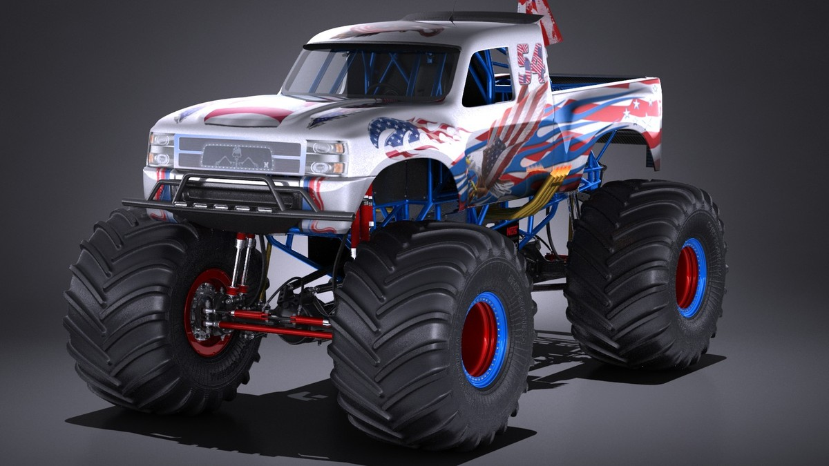 generic monster truck ma