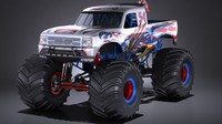 generic monster truck ma