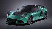 Lotus Exige Sport 350 2017 VRAY