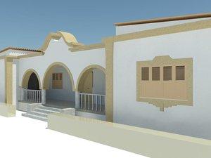 portuguese architecture revit 3d model
