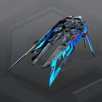 alien fighter 3d model